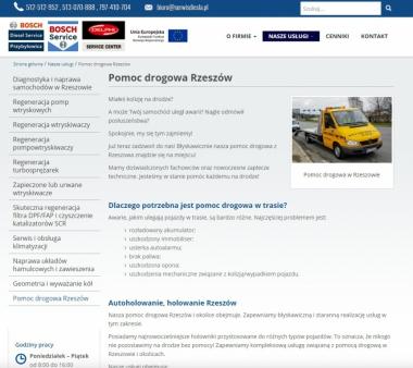 Pomoc Drogowa Diesel Serwis