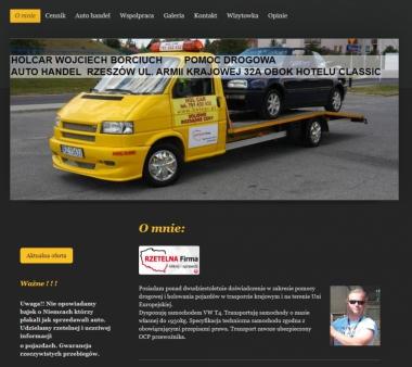 Pomoc drogowa HOLCAR Rzeszów