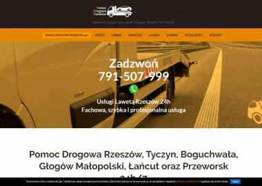 Pomoc Drogowa Rzeszów 24h